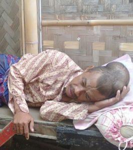 Derita Tumor Ganas, Nelayan Terbaring di Tempat Tidur