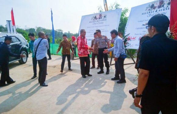 Kapolsek dan Anggota, Pengamanan Soft Opening Gedung Untirta