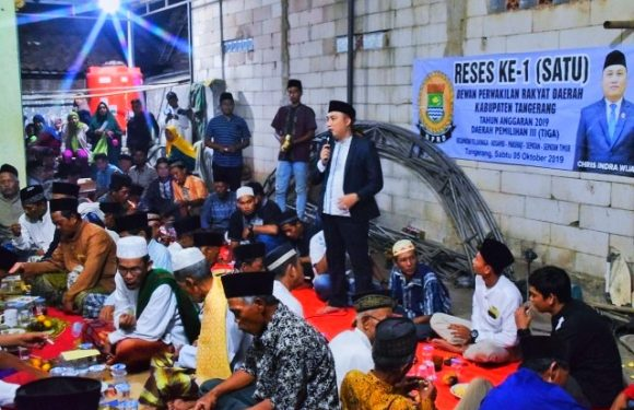 Reses Ke-1 Dewan Chris Indra Wijaya Siap Tindaklanjuti Aspirasi, Satu Diantaranya Keluhkan Sampah