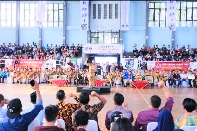 Walikota Tangerang Jadi Deklarator Pembentukan 1.000 Kampung Pemuda