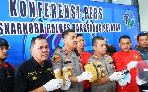 Kurir Narkoba Asal Thailand Sembunyikan Sabu di Dalam Kemaluannya, Dibekuk Satnarkoba Polres Tangsel