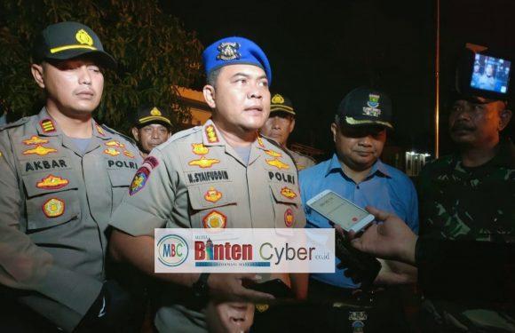 Petugas Gabungan Lakukan Penjagaan Bersama di Tiga Wilayah Hukum Polsek Cisoka