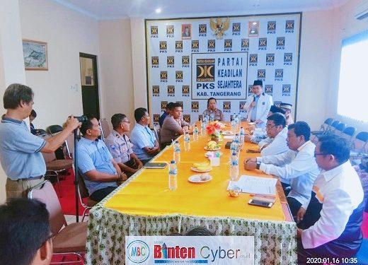 Kapolresta Tangerang Silaturahmi ke Kantor PKS