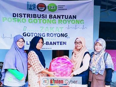 Muslim Glows Bersama IZI, Salurkan Bantuan Korban Banjir ke Lebak Dan Tangerang