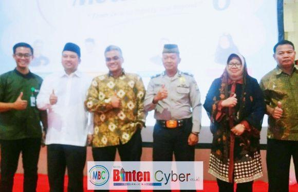 Walikota Tangerang Arief R Wismansyah Membuka Training Motivation 6 Laz Rydha