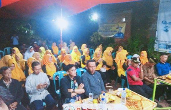Rispanel Arya Reses I, Jaring Aspirasi Warga Binong di Saung SahaRa