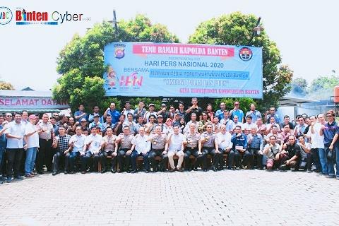 Polda Banten Gelar Temu Ramah Dengan Insan Pers di Peringatan HPN ke-74