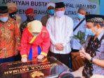 Walikota Tangsel Resmikan Mushola Fatimah Perguruan Muhammadiyah Cicentang Serpong BSD