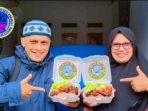 Kang Tito Antarkan Orderan Pertama Ayam Bakar AnNaba ke Pamulang 2