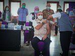 Bupati Tangerang Zaki Iskandar Dan Para Pejabat Sudah Dua Kali di Vaksin