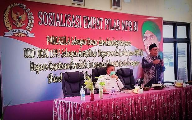Habib Ali Gelar Sosialisasi Empat Pilar Kebangsaan di Sindang Jaya