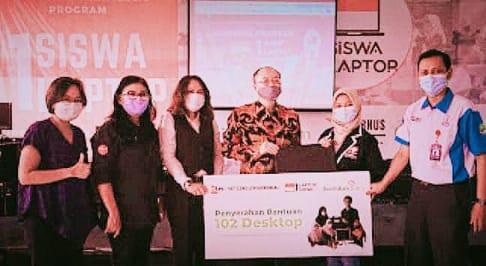 Perusahaan asal Jepang Donasikan Komputer untuk SMK di Jakarta