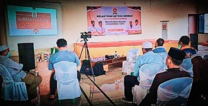 Program Gebrak, PKS Tangerang Targetkan 25 Ribu Anggota Baru