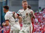 Belgia Lolos Babak 16 Besar Usai Tumbangkan Denmark 2-1