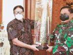Wahidin Halim Sambut Kunjungan Pangdam III Siliwangi