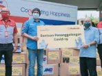 Maybank Salurkan Alat Kesehatan untuk Penanggulangan Covid-19