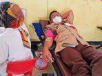 Camat Mekar Baru Donorkan Darahnya pada Acara Pekan Kemanusiaan