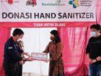 Kemenkes Terima Donasi Hand Sanitizer dari PT Eagle Indo Pharma
