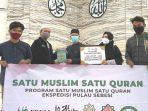 Forum DKM Berikan Donasi Alquran Kepada Santri TPA dan SD