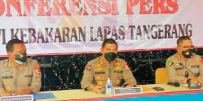 Mabes Polri Ungkap Indikasi Kelalaian Kebakaran Lapas Kelas 1 Tangerang