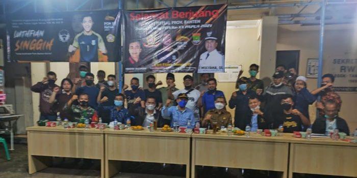 Putra Terbaik Legok Wakili Banten di Cabor Futsal PON ke-20 Papua