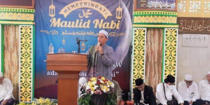 Masjid Al Muawanah Gelar Peringati Maulid Nabi Muhammad SAW